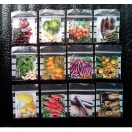 Kit 12 variedades de legumes