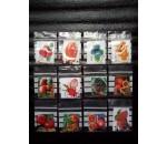 Kit 12 variedades de frutos