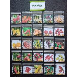 Kit de 25 Variedades de Pimentas